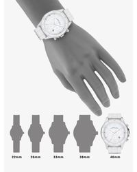 Marc By Marc Jacobs - Marine Chronograph Watch/white Silicone - Lyst