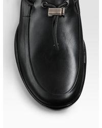 Prada   Black Toggle Loafer for Men   Lyst