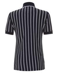 Vivienne Westwood - Blue Navy Referee Stripe Polo Shirt for Men - Lyst