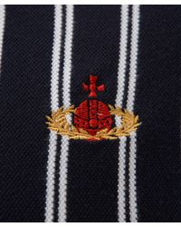 Vivienne Westwood   Blue Navy Referee Stripe Polo Shirt for Men   Lyst