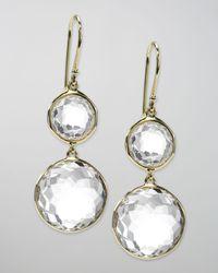 Ippolita | Metallic Gelato Round-drop Earrings | Lyst