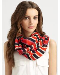 Marc By Marc Jacobs - Multicolor Jacobsen Stripe Scarf - Lyst