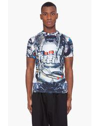Christopher Kane | Blue Multi Turbo T-shirt for Men | Lyst