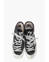 Golden Goose Deluxe Brand - Black Pen Star Francy Sneakers - Lyst