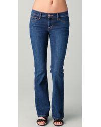 Joe's Jeans | Blue The Provocateur Petite Boot-cut Ryder Jeans | Lyst