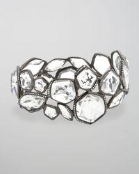 Ippolita - Metallic Clear Quartz & Diamond Hero Bangle - Lyst