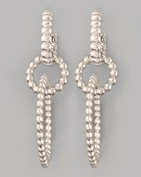 John Hardy - Metallic Linked Drop Earrings - Lyst