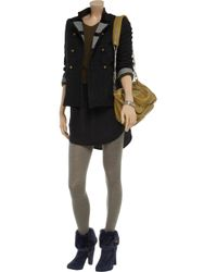 Kat Maconie | Blue Annette Rabbit-trimmed Suede Boots | Lyst