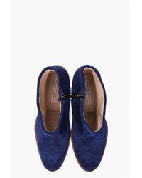 Opening Ceremony   Blue Suede Boots   Lyst