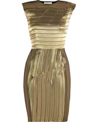 ROKSANDA | Metallic Sunrise Lamé Dress | Lyst