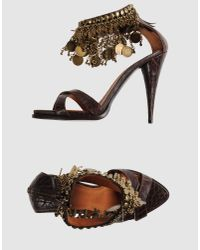 Givenchy | Animal Sandals | Lyst