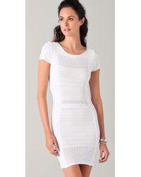 BCBGMAXAZRIA | White Leena Dress | Lyst