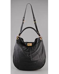 Marc By Marc Jacobs | Black Classic Q Huge Hillier Hobo | Lyst