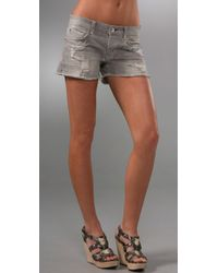 Rich & Skinny | Gray Lover Shorts | Lyst