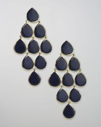 Ippolita - Blue Lapis Cascade Earrings - Lyst