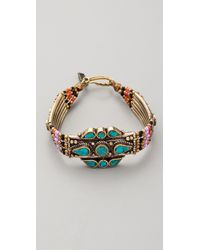 Vanessa Mooney | Pink Large Moonshield Bracelet | Lyst