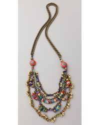 Vanessa Mooney - Multicolor Poppystack Necklace - Lyst