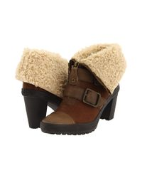 Juicy Couture   Brown Polly Buckle Boots   Lyst