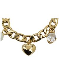 Juicy Couture - Metallic Iconic Pre-assembled Charm Bracelet - Lyst