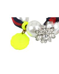 Juicy Couture - Multicolor The Crown Jewels Gumball Pearl Bracelet - Lyst