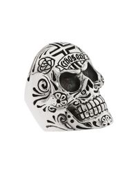 King Baby Studio | Metallic Large Skull W/ Chosen Detail Ring | Lyst
