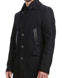 Mackage - Black Clark Peacoat for Men - Lyst