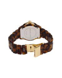 Michael Kors - Metallic Acetate Tortoise Bracelet Watch - Lyst