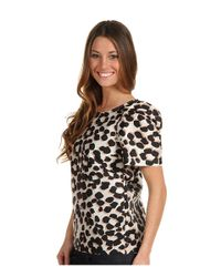 See By Chloé - Multicolor Leopard Print Silk Top - Lyst