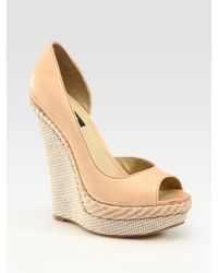 Rachel Zoe | Natural King Platform Wedge | Lyst