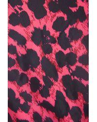 TOPSHOP   Multicolor Animal Print Pac-a-Parka   Lyst