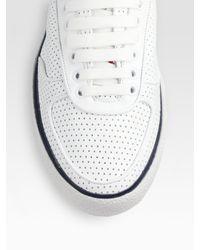 Moncler | White Orleans Sneaker for Men | Lyst