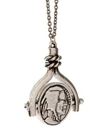 Low Luv by Erin Wasson | Metallic Coin Spinner Necklace | Lyst