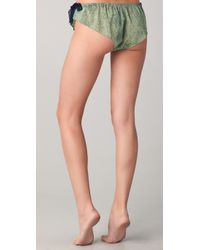 3.1 Phillip Lim | Green Silk Bows Bikini Briefs | Lyst