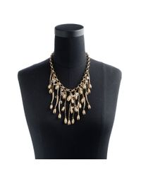 J.Crew | Metallic Large Flowering Vine Necklace | Lyst