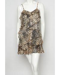 Rachel Zoe - Multicolor Kylie Asymmetrical Ruffle Dress - Lyst