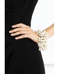 Coast - Natural Teardrop Pearl Bracelet - Lyst