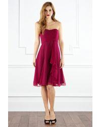 Coast - Pink Symphony Short Dress - Lyst