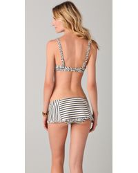 Tory Burch - White Ruffle Underwire Bikini Top - Lyst