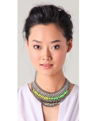 DANNIJO - Metallic Kinsley Necklace - Lyst