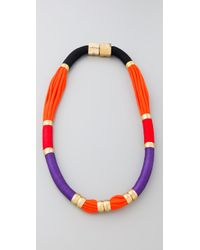 Holst + Lee - Multicolor Long Colorblock Necklace - Lyst