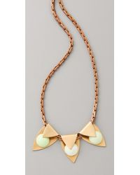 Lulu Frost | Metallic Milky Way Pendant Necklace | Lyst