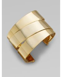 Marc By Marc Jacobs | Metallic Narrow Wrapped Cuff | Lyst