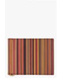 Paul Smith - Multicolor Striped Wallet for Men - Lyst