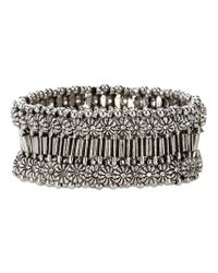 Philippe Audibert   Metallic Manchette Bracelet   Lyst