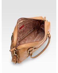 Storksak - Brown Elizabeth Leather Baby Bag - Lyst