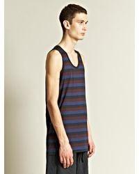 Dries Van Noten - Multicolor Mens Hazley Stripe Tank Top for Men - Lyst