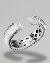 John Hardy | Metallic Diamond-tip Kick Cuff, 4/5w | Lyst