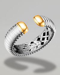 John Hardy | Metallic Gold-tip Kick Cuff | Lyst