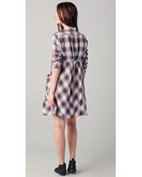 Boy by Band of Outsiders - Blue Shirtdress - Lyst
