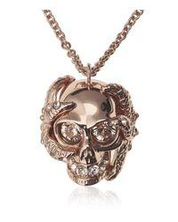 Alexander McQueen | Metallic Skull & Starfish Necklace | Lyst